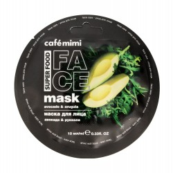 Cafe Mimi Super Food Maseczka do twarzy Awokado & Rukola  10ml