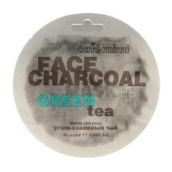 Cafe Mimi Face Charcoal Maseczka do twarzy Węgiel Bambusowy & Green Tea 10ml
