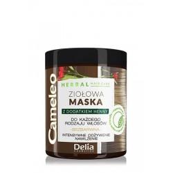 Delia Cosmetics Cameleo Herbal Maska Ziołowa do włosów każdego rodzaju 250ml