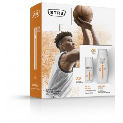 STR 8 Heat Resist & Energy Rush Zestaw prezentowy (dezodorant spray 150ml+żel pod prysznic 400ml)
