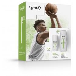 STR 8 Fresh Recharge Zestaw prezentowy (dezodorant spray 150ml+żel pod prysznic 400ml)
