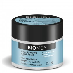 Farmona Biomea Silnie Nawilżający Krem do twarzy na dzień i noc - Hialuronowe Nawilżenie 50ml