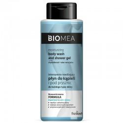 Farmona Biomea Intensywnie Nawilżający Płyn do kąpieli i pod prysznic 2w1 - każdy rodzaj skóry 500ml