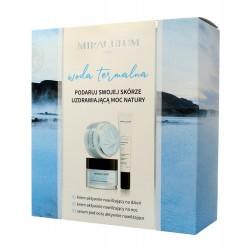 Miraculum Zestaw prezentowy Woda Termalna (Krem n/dzień 50ml+Krem n/noc 50ml+Serum pod oczy 20ml)