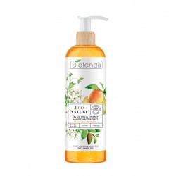 Bielenda Eco Nature Żel do mycia twarzy nawilżająco-kojący Śliwka Kakadu & Jaśmin & Mango 200g