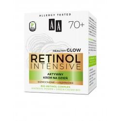 AA Retinol Intensive 70+ Aktywny Krem na dzień - wzmocnienie + ujędrnienie 50ml