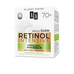 AA Retinol Intensive 70+ Intensywny Krem na noc - odżywienie + odbudowa 50ml