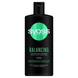 Schwarzkopf  Syoss Balancing Szampon do wszystkich rodzajów włosów 440ml