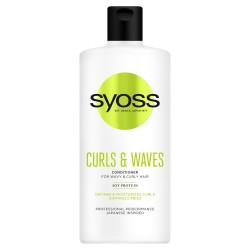 Schwarzkopf  Syoss Curls & Waves Odżywka do włosów podkreślająca loki  440ml