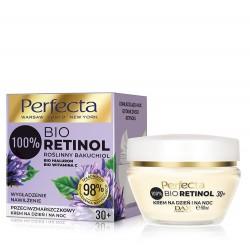 Perfecta 100% Bio Retinol 30+ Przeciwzmarszczkowy Krem na dzień i noc - nawilżenie i wygładzenie 50ml