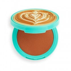 I Heart Revolution Tasty Coffee Bronzer do twarzy Cappuccino 1szt