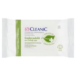 Cleanic Chusteczki odświeżające Antibacterial - biodegradowalne 1op.-15szt