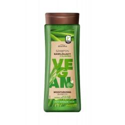 Joanna Vegan Szampon do włosów nawilżający Aloes - włosy normalne i suche 300ml