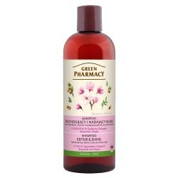 Green Pharmacy Szampon do włosów regenerujący i nadający blask -Magnolia i Argan  500ml