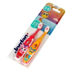 Jordan Szczoteczka do zębów dla dzieci Step by Step 3-5 soft DUO - mix wzorów 1szt