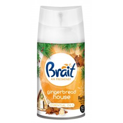 Brait Air Care 3in1 Christmas Odświeżacz automatyczny - zapas Gingerbread House  250ml