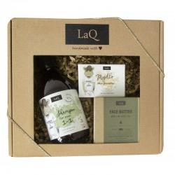LaQ Zestaw prezentowy dla mężczyzn Dzik (szampon 300ml+masło 50ml+mydło kostka 85g) 1op.