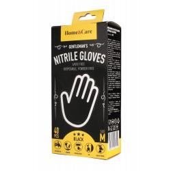 Home & Care Rękawiczki nitrylowe męskie - rozmiar M  1op.-40szt