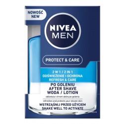 NIVEA MEN Woda po goleniu PROTECT & CARE 2w1 100ml