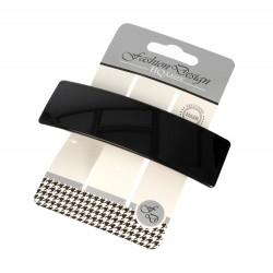 Top Choice Fashion Design Spinka do włosów automatyczna czarna-połysk (26331) 1szt