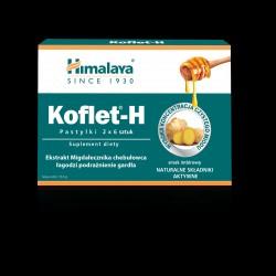 Himalaya Koflet - H Pastylki do ssania imbirowe - suplement diety 2x6szt