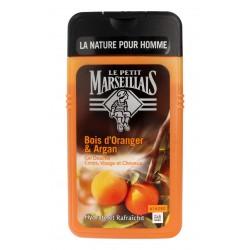 Le Petit Marseillais Żel pod prysznic 3w1 dla mężczyzn Drzewo Pomarańczowe & Olejek Arganowy  250ml