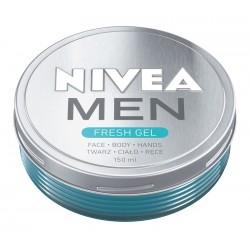 Nivea Men Krem-żel nawilżający do twarzy,ciała i rąk Fresh  150ml