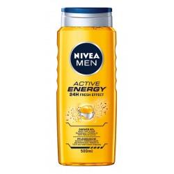 Nivea Men Żel pod prysznic Active Energy 500ml
