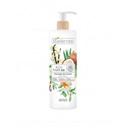 Bielenda Eco Nature Balsam do ciała odżywczy - Mleczko Waniliowe & Kokosowe & Kwiat Pomarańczy 400ml