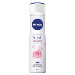 Nivea Dezodorant FRESH ROSE TOUCH 48h spray damski 150ml