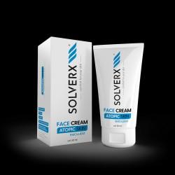 SOLVERX Atopic Skin Krem do twarzy - emolient  50ml