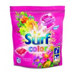 Surf Color Kapsułki do prania Tropikalna Lilia & Ylang Ylang  1opakowanie -15 sztuk