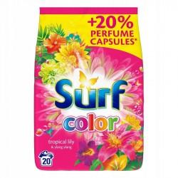 Surf Color Proszek do prania Tropical Lily & Ylang  Ylang  1,3kg (20 prań)