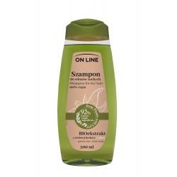 On Line From Plants With Love Szampon do włosów BIOekstrakt z Zielonej Herbaty i Aloes 500ml