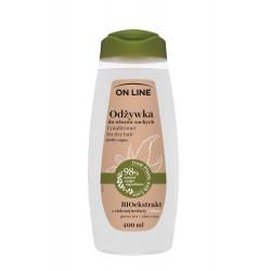 On Line From Plants With Love Odżywka do włosów BIOekstrakt z Zielonej Herbaty i Aloes 400ml