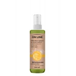 On Line From Plants With Love Odżywka do włosów w sprayu BIOekstrakt z Zielonej Herbaty i Arnika 200ml