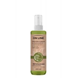 On Line From Plants With Love Odżywka do włosów w sprayu BIOekstrakt z Zielonej Herbaty i Aloes 200ml
