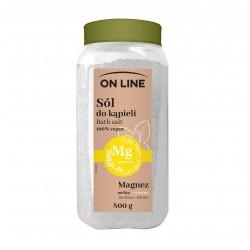 On Line From Plants With Love Sól do kąpieli Magnez - Melisa i Cytryna  800g