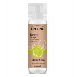 On Line From Plants With Love Krem do rąk Masło Shea i Awokado  190ml