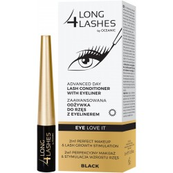 Long 4 Lashes Zaawansowana Odżywka do rzęs z eyelinerem 3ml