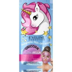 Eveline Holographic Peel-Off Mask Maseczka matująco-oczyszczająca Glow Bella  7ml