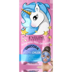 Eveline Holographic Peel-Off Mask Maseczka nawilżająco-oczyszczająca Glow Chloe  7ml