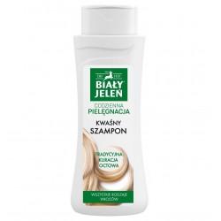 Biały Jeleń Codzienna Pielęgnacja Szampon do włosów kwaśny - każdy rodzaj włosów  300ml