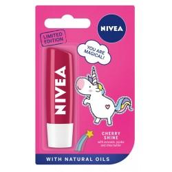 Nivea Lip Care Pomadka ochronna CHERRY SHINE - edycja limitowana  4.8g