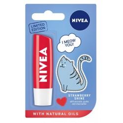 Nivea Lip Care Pomadka ochronna STRAWBERRY SHINE - edycja limitowana  4.8g