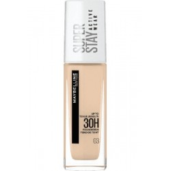 Maybelline Super Stay Active Wear 30H Podkład długotrwały nr 03 True Ivory 30ml