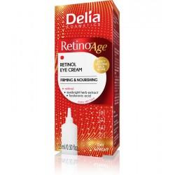 Delia Cosmetics RetinoAge Krem napinająco-odżywczy pod oczy 15ml