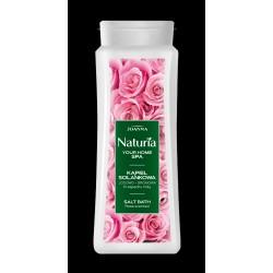 Joanna Naturia Your Home Spa Kąpiel solankowa jodowo-bromowa - Róża 500 ml