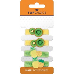 Top Choice Frotki do włosów (22968)  1op.-4szt