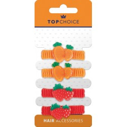 Top Choice Frotki do włosów (22982)  1op.-4szt